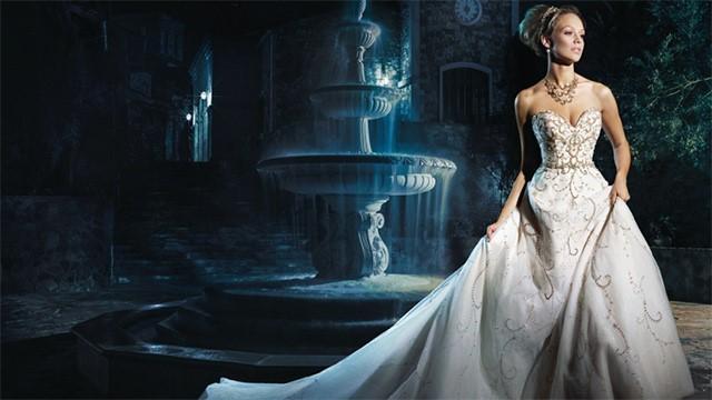 Disney inspirira za vjenčanice iz bajke